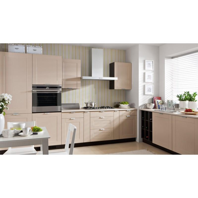 k che erweiterbar sand beige mdf. Black Bedroom Furniture Sets. Home Design Ideas