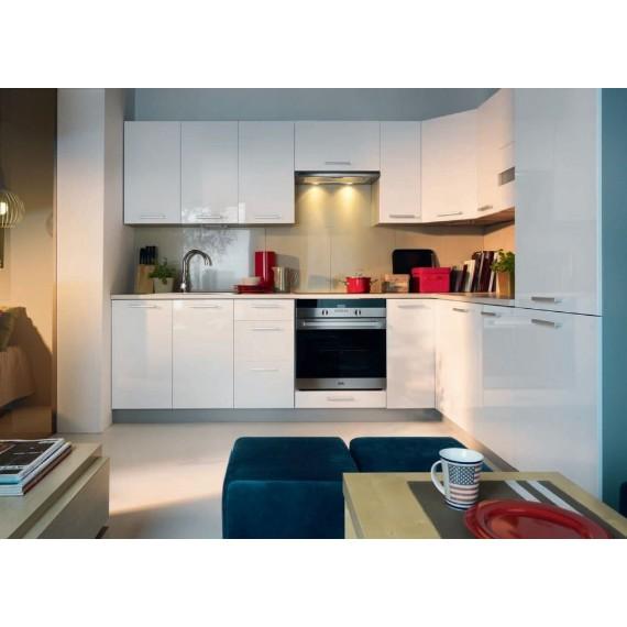 Küche Top Line Weiss Glanz