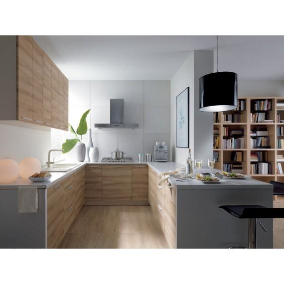 Küche 300 cm Eiche Messina...