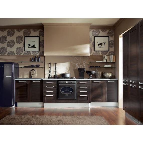 Küche 330 cm Wenge Rahmen...