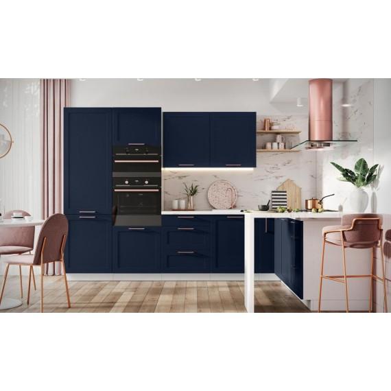 Küche TL Adele Blau matt