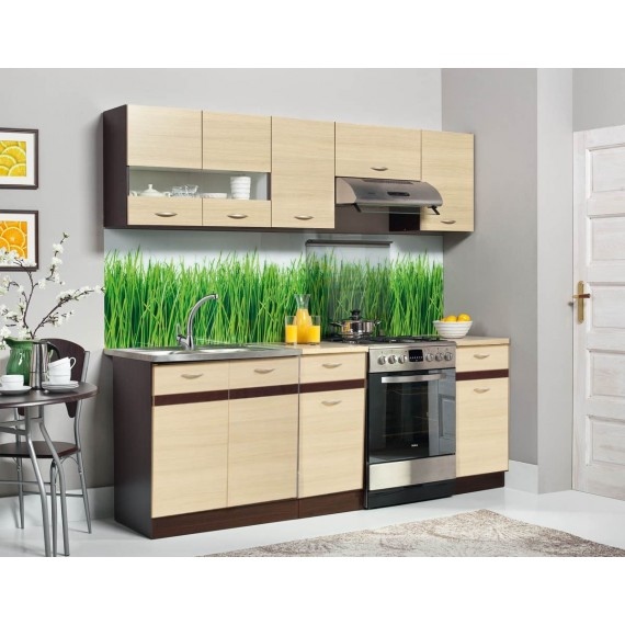 Küchenzeile 220 cm...
