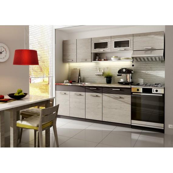 Küche Moreno 240 cm Picard...