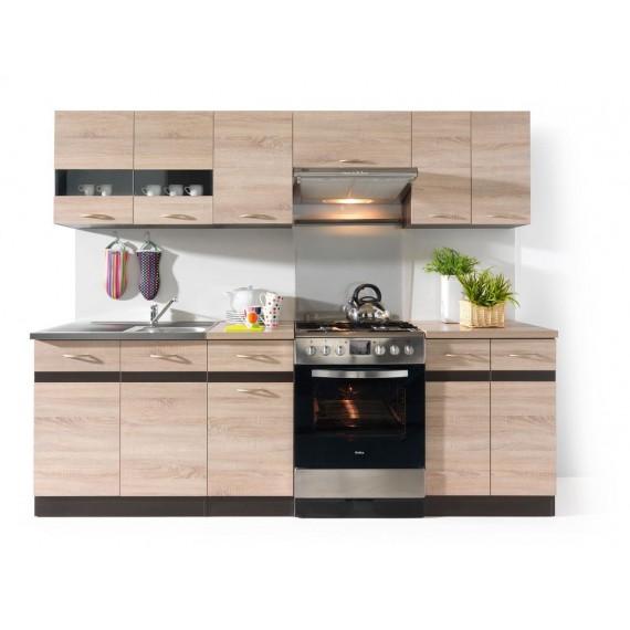 Küche Junona 240cm Eiche...