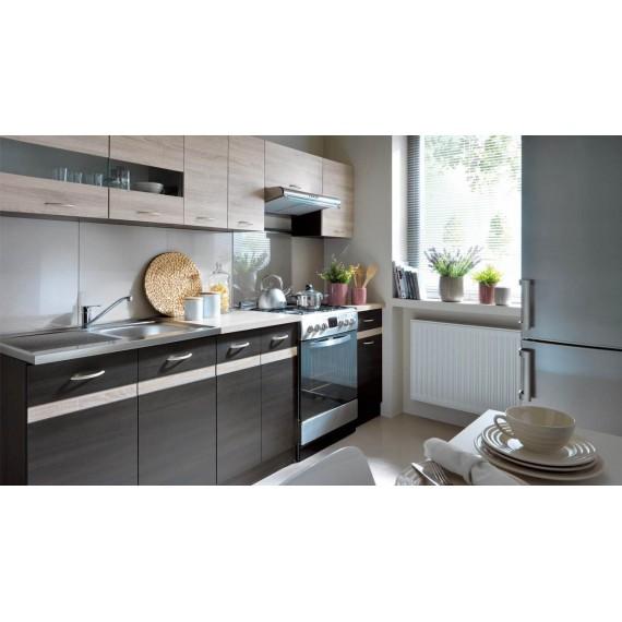 Küche Junona 240cm  Wenge -...